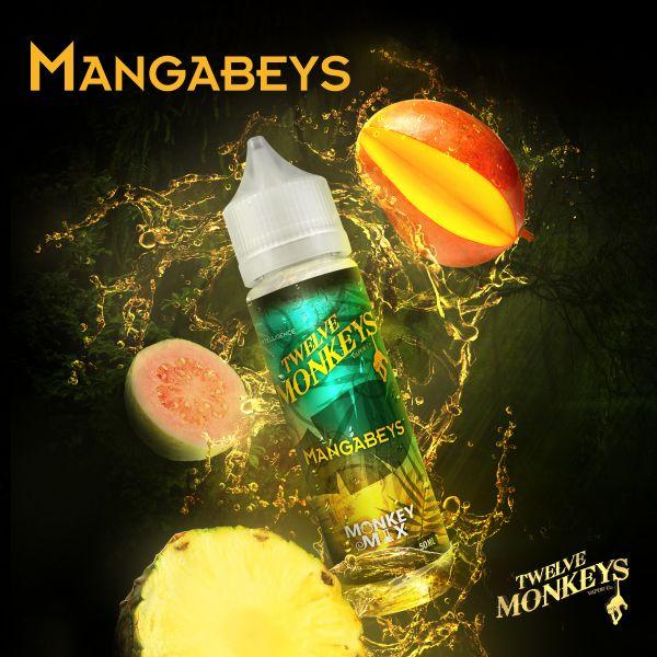 Twelve Monkeys Monkey Mix Liquid Mangabeys 50 ml