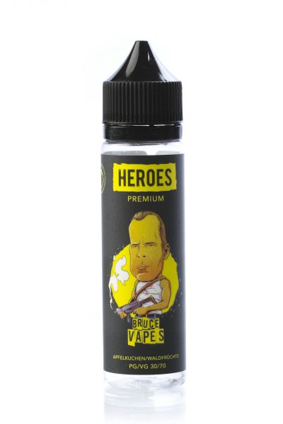 Pro Vape Heroes E-Liquid Bruce Vapes 50 ml