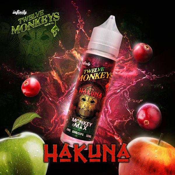 Twelve Monkeys Monkey Mix Liquid Hakuna 50 ml