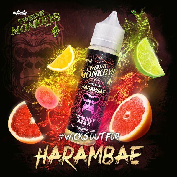 Twelve Monkeys Monkey Mix Liquid Harambae 50 ml