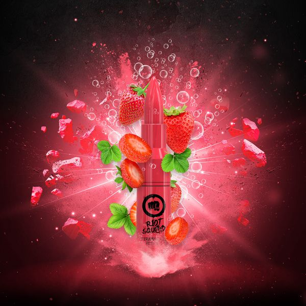 Riot Squad E-Liquid Strawberry Scream 50 ml