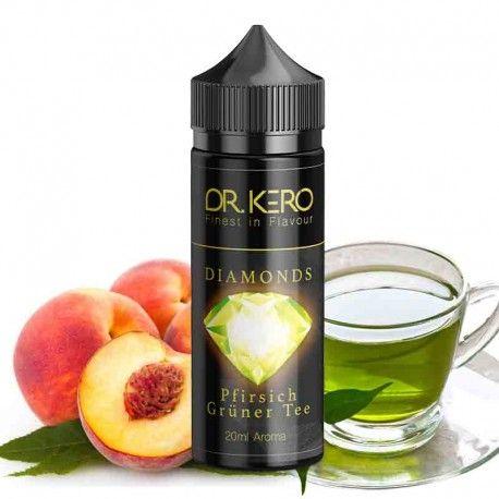 Dr. Kero Diamonds Pfirsich Grüner Tee Aroma 20ml