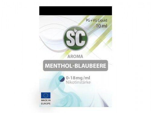 SC Liquid Menthol-Blaubeere 10ml