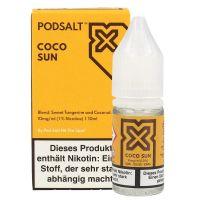 Pod Salt X - Coco Sun Liquid - 20 mg/ml 10 ml