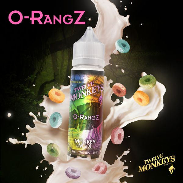 Twelve Monkeys Monkey Mix Liquid O-RangZ 50 ml