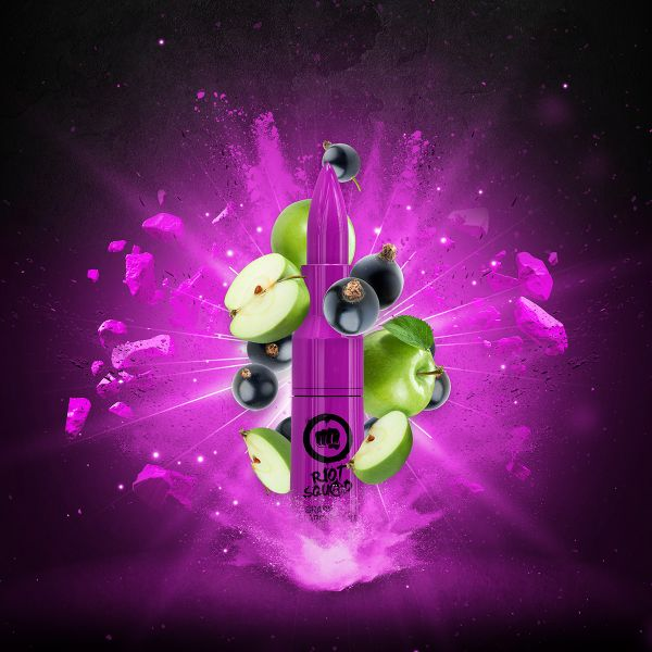 Riot Squad E-Liquid Grapple & Slapcurrant 50 ml