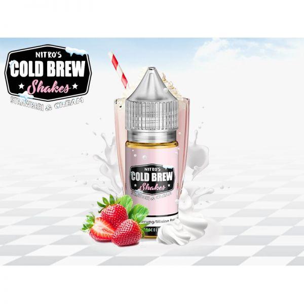 Nitro's Cold Brew Aroma Strawberi & Cream 30 ml
