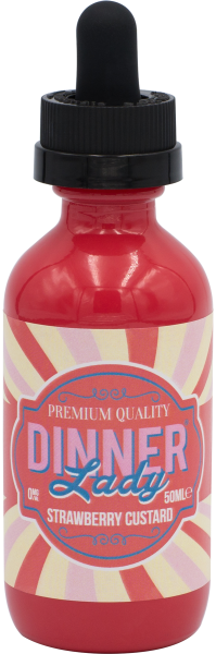 Dinner Lady Liquid Strawberry Custard 60ml