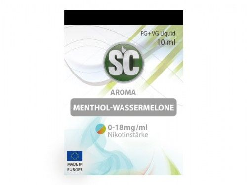 SC Liquid Menthol-Wassermelone 10ml
