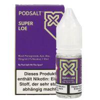 Pod Salt X - Super Loe Liquid - 20 mg/ml 10ml