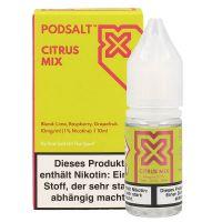 Pod Salt X - Citrus Mix Liquid - 20 mg/ml 10 ml