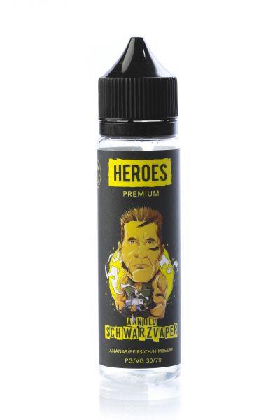 Pro Vape Heroes E-Liquid Arnold Schwarzvaper 50 ml