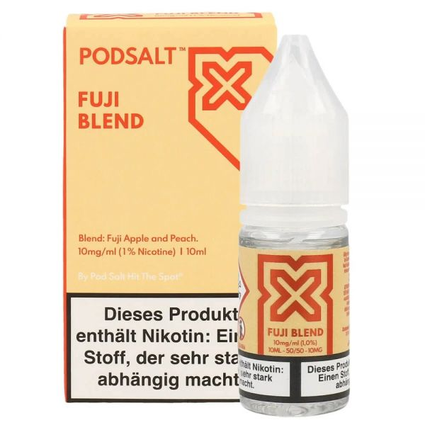 Pod Salt X - Fuji Blend Liquid - 20 mg/ml 10ml