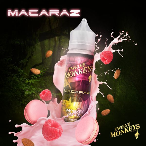 Twelve Monkeys Monkey Mix Liquid Macaraz 50 ml