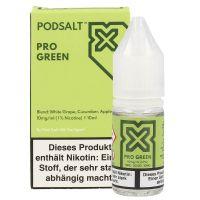 Pod Salt X - Pro Green Liquid - 20 mg/ml 10ml