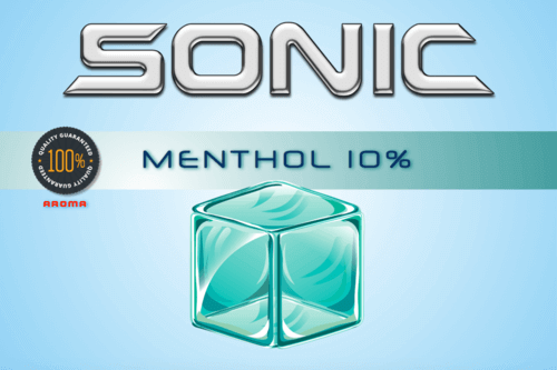 Sonic Aroma Menthol 10% 10ml