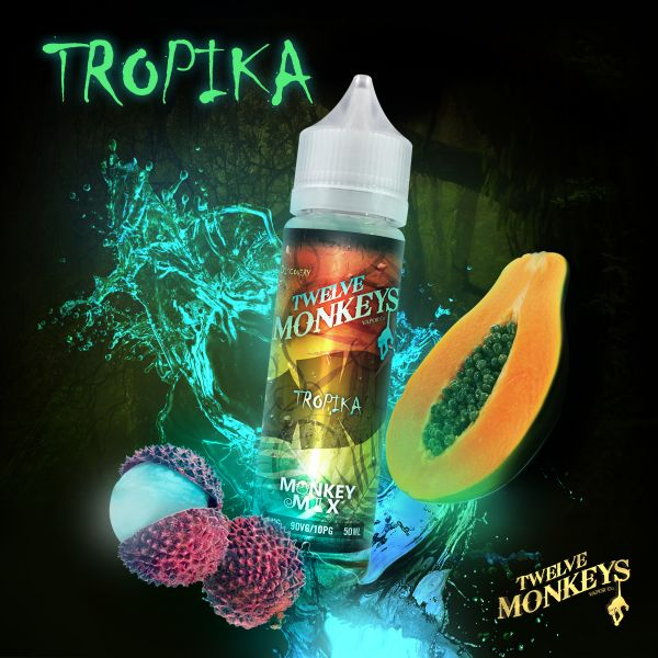 Twelve Monkeys Monkey Mix Liquid Tropika 50 ml
