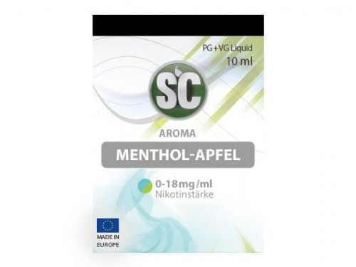 SC Liquid Menthol-Apfel 10ml