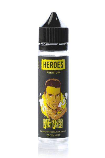 Pro Vape Heroes E-Liquid Jean Claude Van Vape 50 ml