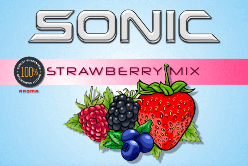 Sonic Aroma Strawberry Mix 10ml