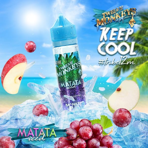 Twelve Monkeys Monkey Mix E-Liquid Matata Iced 50 ml