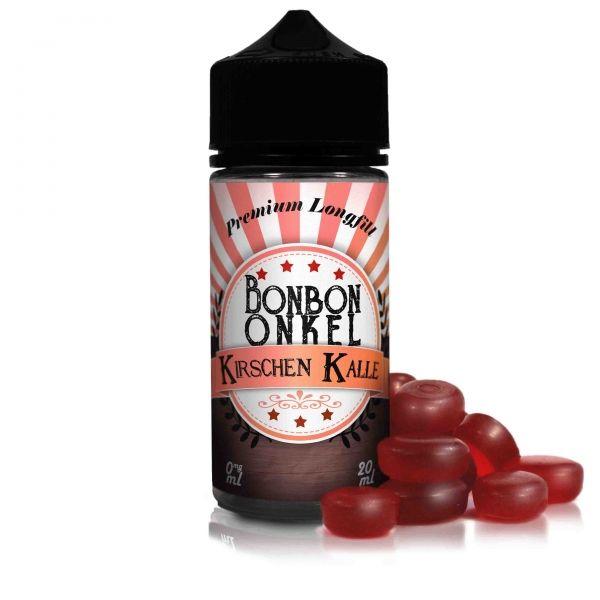 Bonbon Onkel Kirschen Kalle 0mg 20ml Aroma in 100ml Flasche