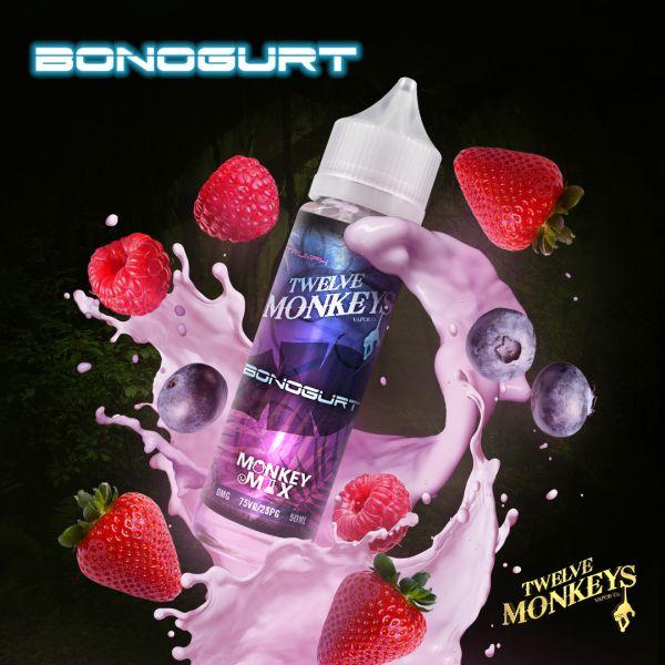 Twelve Monkeys Monkey Mix Liquid Bonogurt 50 ml